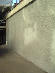 Sprayed Concrete Finishes